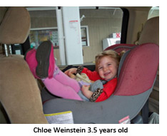 Chloe Weinstein 3.5 years old
